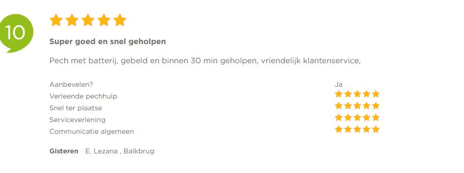 Een lege accu – Klanten vertellen – Pechonderwegservice.nl